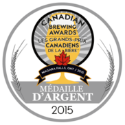 Silver medal - Canadian Brewing awards