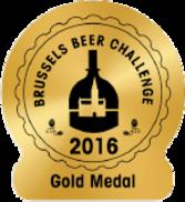 Brussels Beer Challenge 2016 - Gold medal